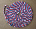 8 metre 14mm Red White Blue Mooring Line